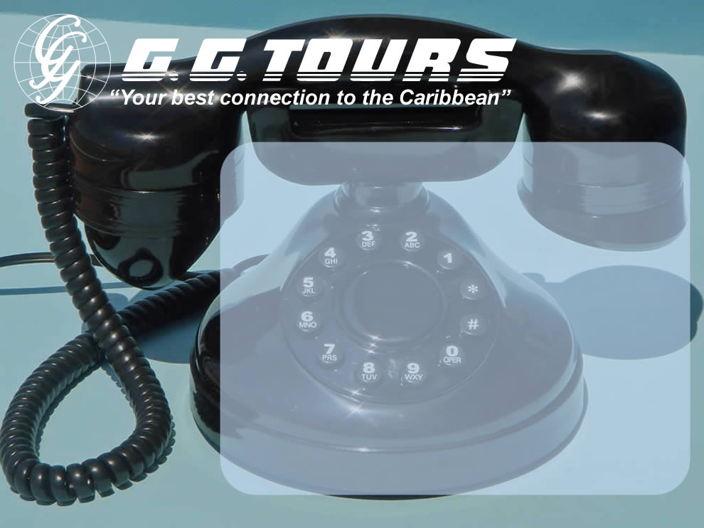 G G  Tours - Contact Us